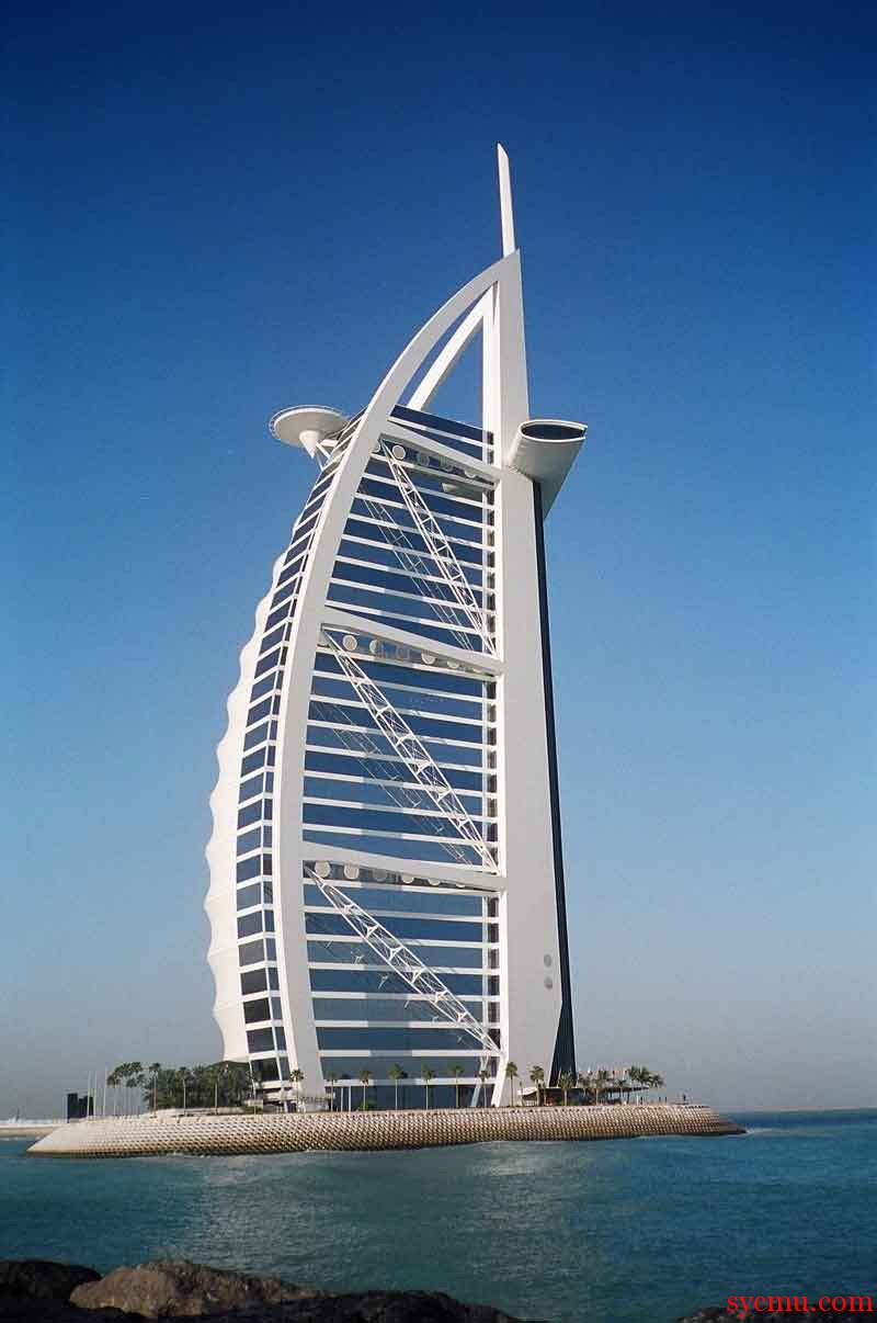 World 39 s highest tennis court Burj al arab architecture